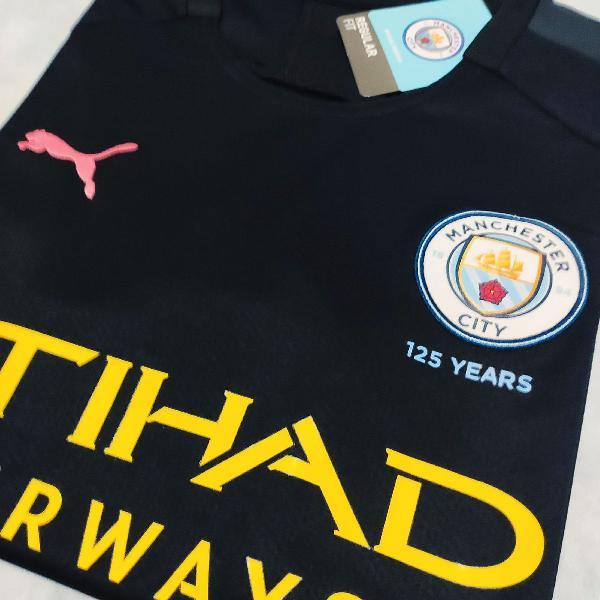 Camisa manchester city 2019/20 away (tam m) pronta entrega