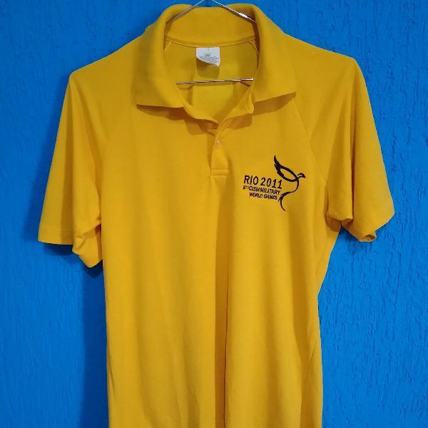 Camisa dos jogos mundias militares rio 2011