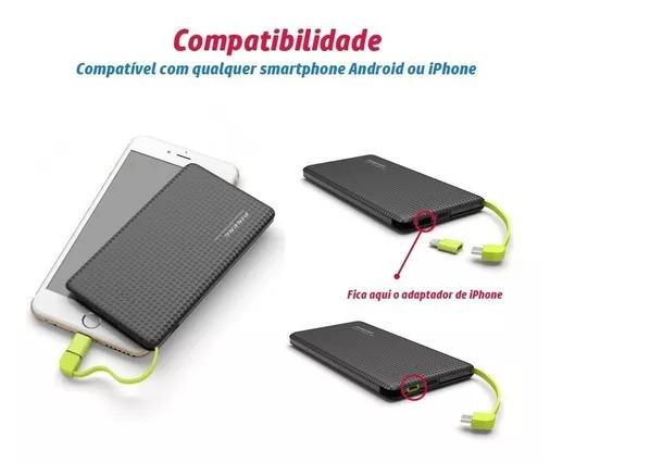 Carregador portátil pineng original pn-951 10000mah power