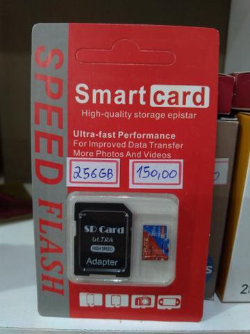 Cartões de memória micro sd, 32gb, 64gb, 128gb, 256gb