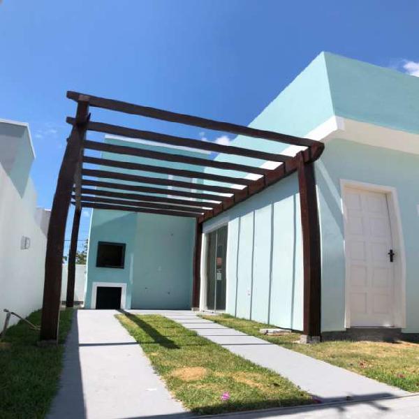 Casa para venda tem 63 metros quadrados com 2 quartos
