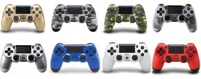 Controles para ps4 originais varios modelos e cores