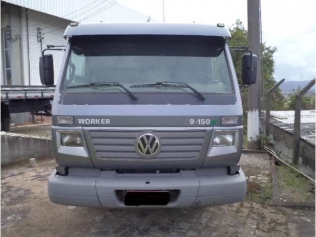Fantástico caminhão vw 9150 worker chassi