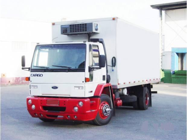 Ford cargo 1415 chassis bau refrigerado frigorifico e seco