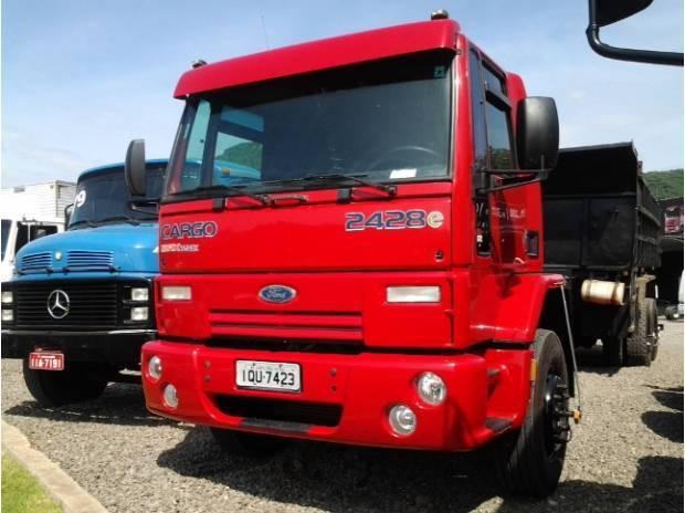Ford cargo 2428e - chassi - 6x2