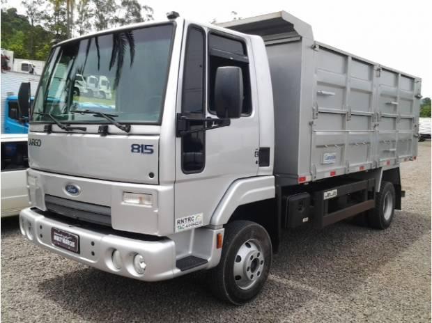 Ford cargo 815 n - 2012 - seminovo - unico dono