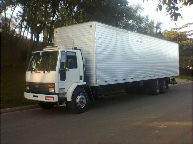 Ford cargo truck bau troco por caminhão ou carro de meu