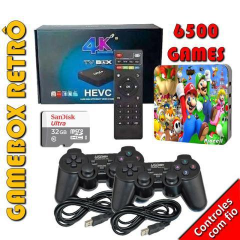 Gamebox retrô - video game multijogas
