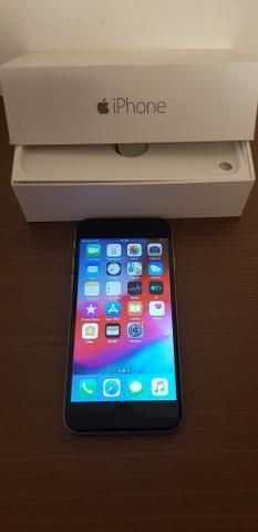 Iphone 6, 16 gigas, cinza espacial