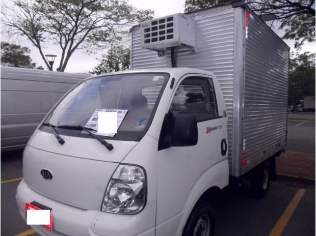 Kia obongo 2011 c/baú refrigerado c/serviço