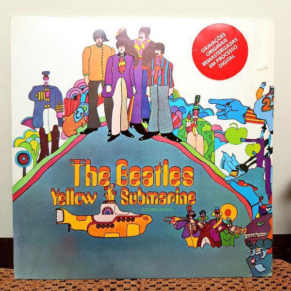 Lp the beatles - yellow submarine
