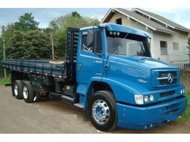 Mb 1620 truck transfiro oportunidade prestação 1980,00 s/