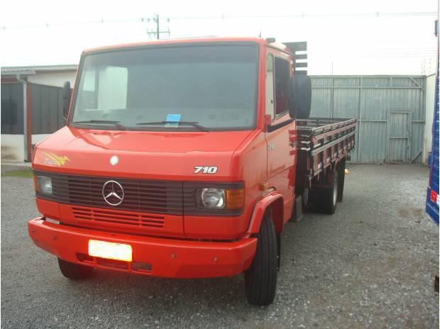 Mb 710 plus - carroceria ano 2004 caminhão original