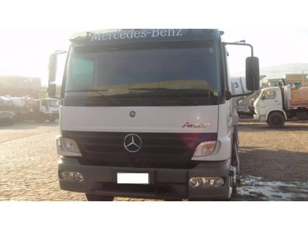 Mb atego 2425 cab estendida com cama 2010/2010 tanque 15 000