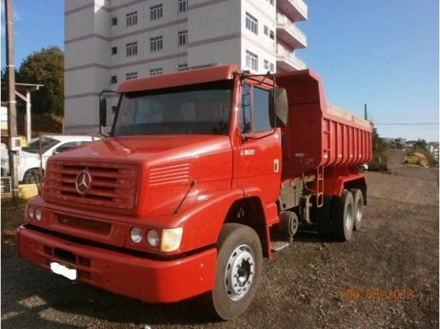 Mb - l-1620 6x2 - ano 1999 na caçamba librelato 2012
