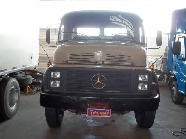 Mb lk2214, traçado (6x4) no chassis, ano 1988