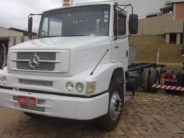 Mb 1620 Truck Chassis 6x2