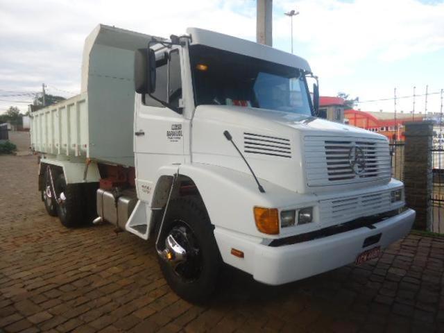Mb 1621 1994 truck, cacamba, turbo, reduzida, pneus novos,