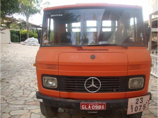 Mb 708e 1988 excelente caminhão pronto pra trabalhar