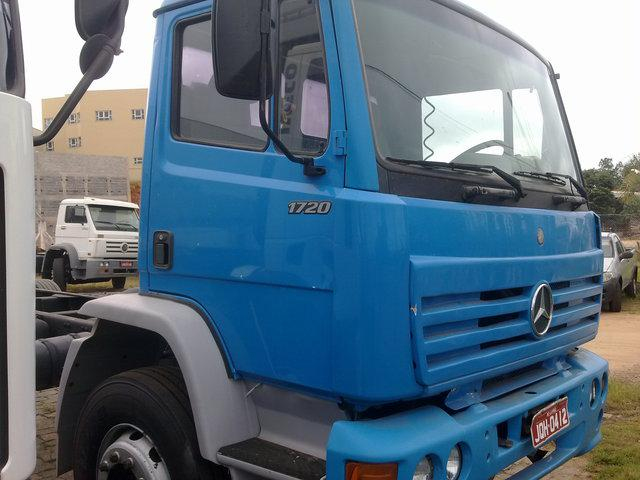 Mbl 1720 truck chassis