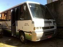 Micro-ônibus vw marcopolo senior 8.120 ano 99/99