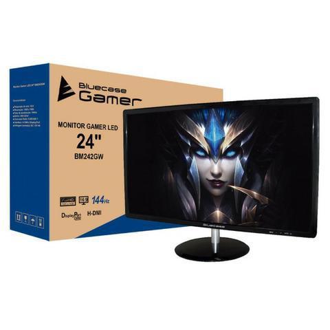 Monitor Gamer LED 24 Pol 144Hz 1MS DP e Hdmi Lacrado