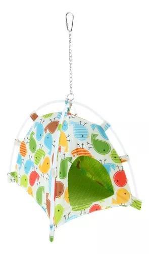 Pet house pequenos animais canvas tenda pássaro papagaio
