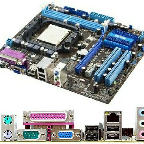 Placa mãe asus m4n68t-m le com processador amd athlon x2
