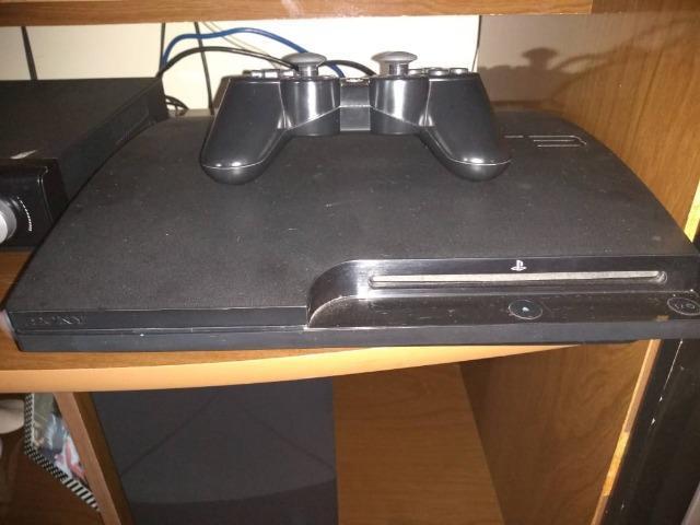 Playstation 3 / camera eye/controle move/2 controle original