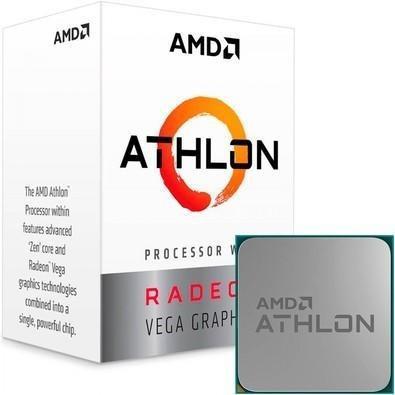Processador amd athlon 220ge, cache 5mb 3.4ghz am4