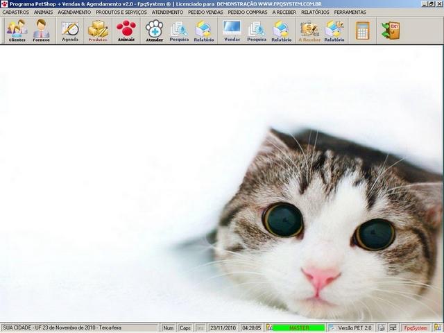 Programa software para clinica veterinária e petshop +