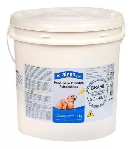 Ração alcon club papa filhote psitacídeos 6kg