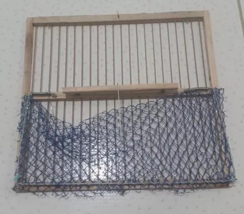 Rede batedeira para pássaros - 30x30