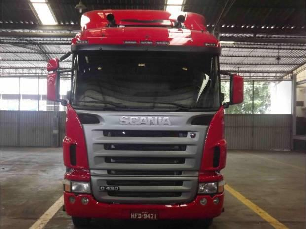 Scania g 420 6x2 2010/2010 cavalo impecavel,