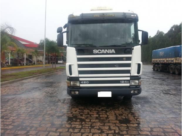 Scania r 124 420 6x2 2001- motor novo impecavel