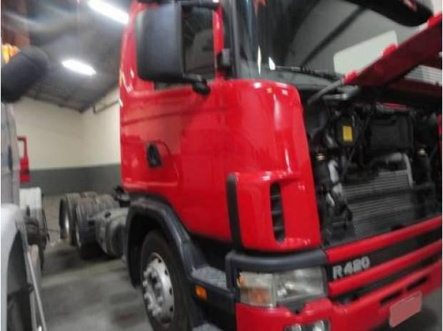 Scania r 420 6x2 2004/2004 chassis