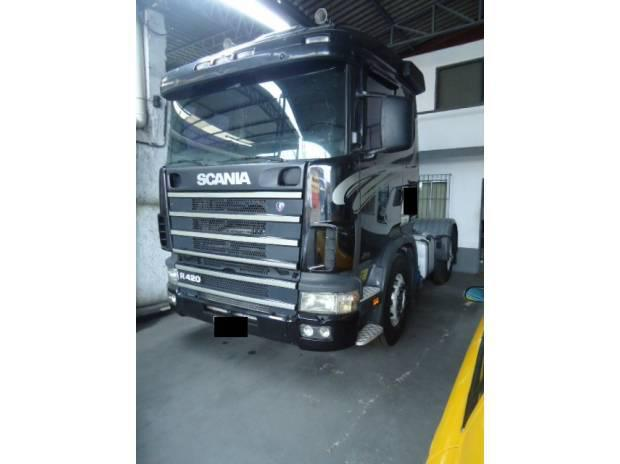 Scania r/124 ga 420 ano 2007 modelo (silver line)