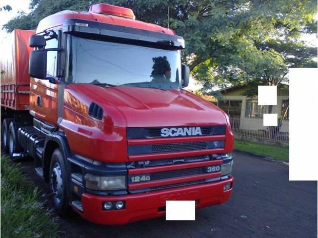 Scania 124 360 199. com bitrem guerra.avista ou troca, por s