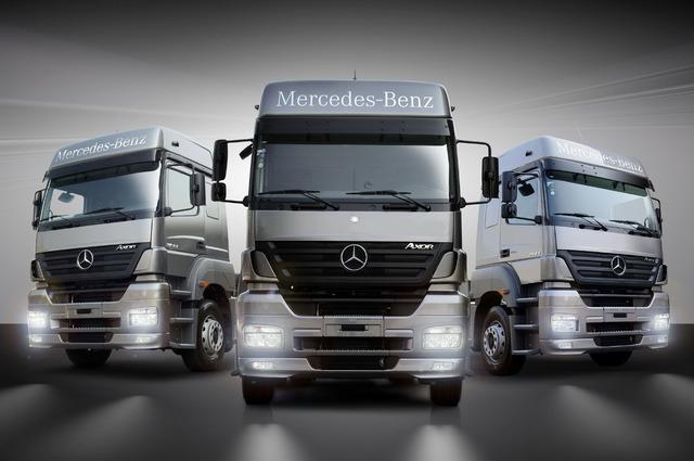 Seu caminhão mercedes benz novo ou usado até 120 meses