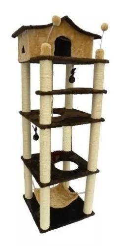 Torre Para Gatos-super-promoção-muita Atividade E Espaço