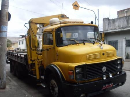 Vende-se caminhão truck mercedes benz 1113