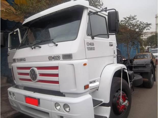 Vw 18310 2004 semi leito financia 100% primeiro caminhão