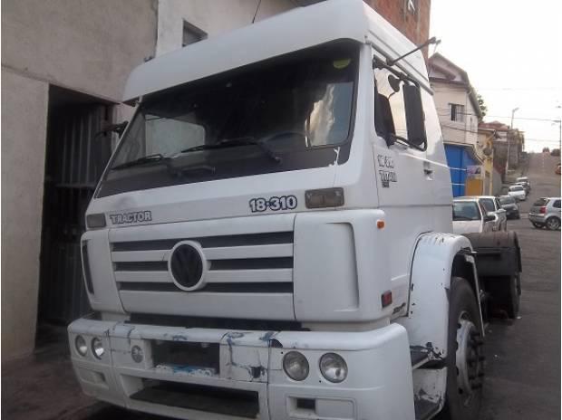 Vw 18310 2005 leito financia primeiro caminhão