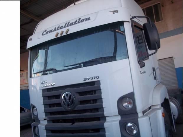 Vw 25370 6x2 08_08 financia 100% primeiro caminhão