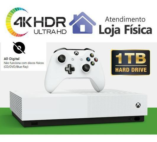 Xbox one s all digital 1tb  12x97,50 compare semjogo novo  +