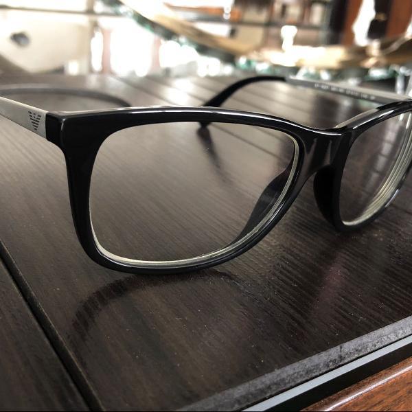 Armação de óculos empório armani