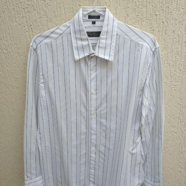 Bonita camisa de manga comprida da marca italiana salvatore