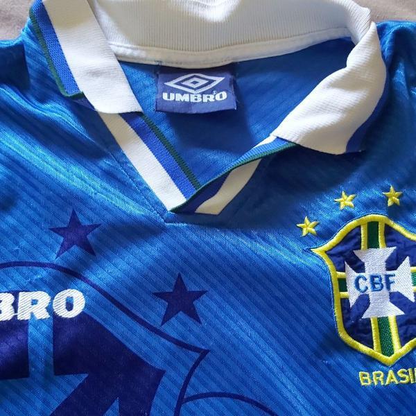 Camisa oficial seleção brasileira 1993 tamanho g