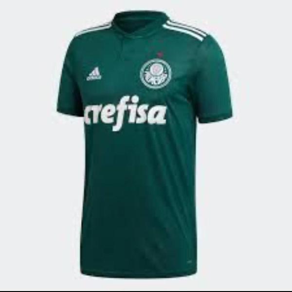 Camisa palmeiras adidas stadium sem numero tamanho; p