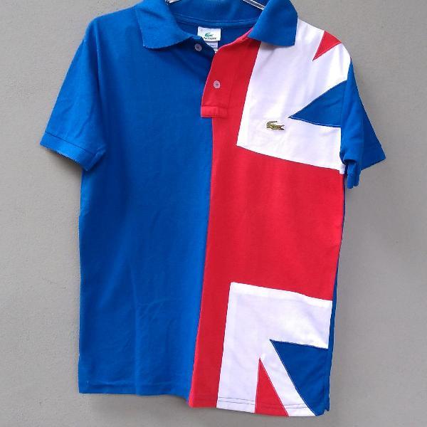 Camisa polo lacoste england